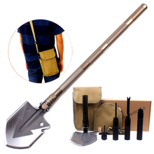 New Design Multi-function Portable Military Folding Shovel Outdoor Camping Survival Tool Spade Tactical Tools Stove