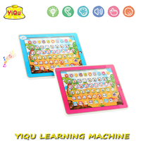 New design Russian ABC Educational Teaching Learning Machine Baby Learning IPAD Studying IPAD for kids