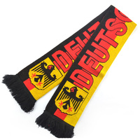 Football Knitted Scarf Football Soccer Sports