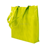 Clolorful plastic gift packaging big bag and pp woven bag Bopp PP woven lamination bag for shopping
