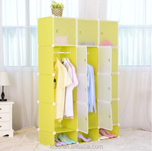 2015 fashion wardrobe room wardrobe with shoe cabinets on the bottom (FH-AL00742-12 )