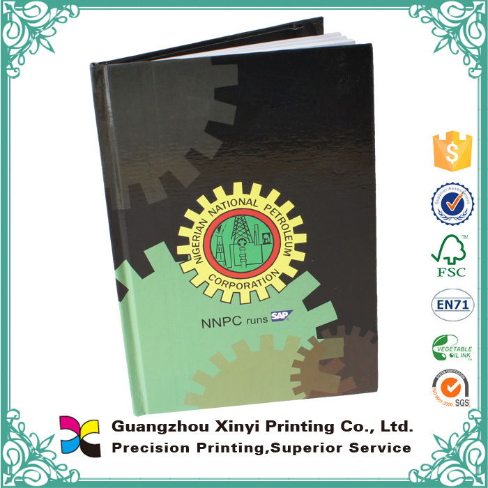Best Oem logo B5 A5 customized promotional personalized hardcover paperback blank notebook
