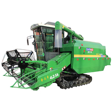Best price China manufacturer crawled type rice grain harvester machine with cab