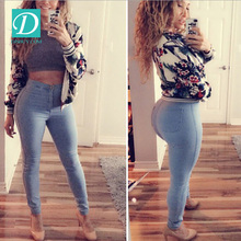2017 New Model High Quality Top Fashion Skinny Women Jeans