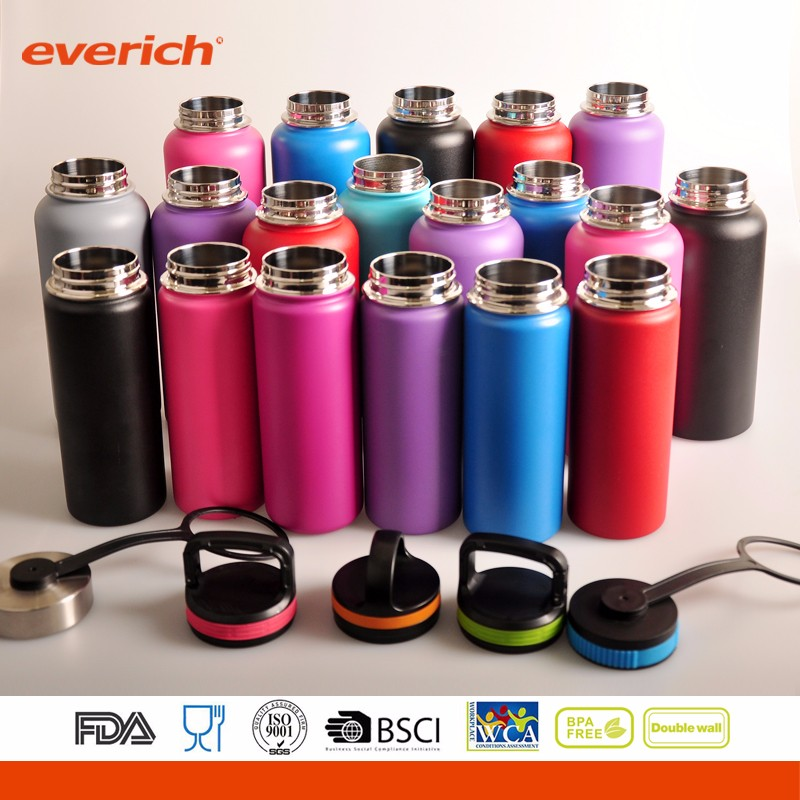 Free Samples Insulated Double Wall Stainless Steel Hydro Flask Bottle