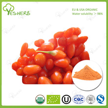natural ningxia wolfberry extract 20% - 60% goji berry dried extract powder