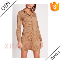 2016 alibaba china online shopping women's clothing flannel fabric long sleeve shirt mini latest dress design