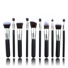HOT254 Your own brand makeup facial make up cosmetics make up brushes foundation oval makeup brushes set