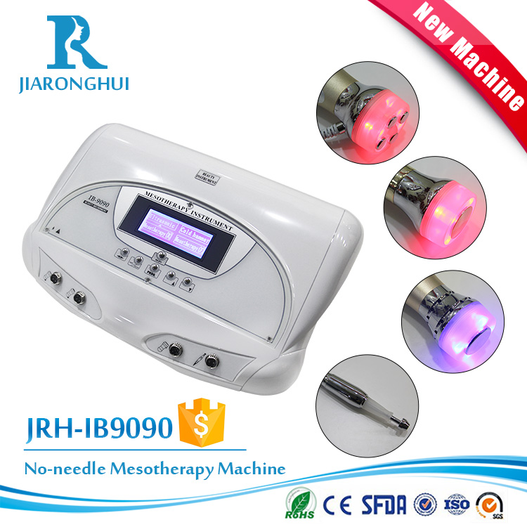 4 in 1 high quality BIO microcurrent face lifting beauty machine with ultrasonic