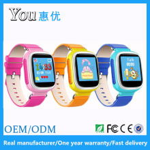 Q60 1.44 inch geofence anti lost pedometer kids gps watch phone without camera