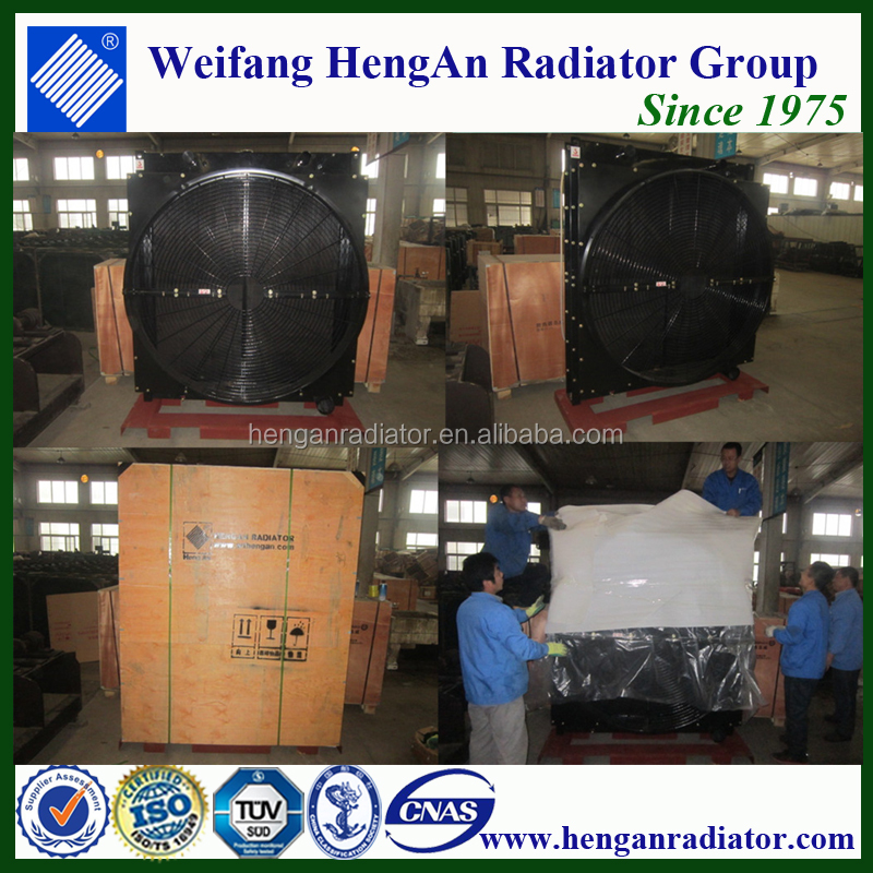 Hot Selling QSK23-G3 Diesel Generator Radiator
