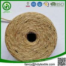 Jute made in china biodegradable braided twisted natural jute hemp thread