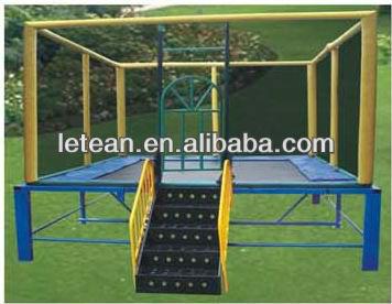 Hot vender bungee jumping playground trampolim, rodada de trampolim( lt- 0106c)