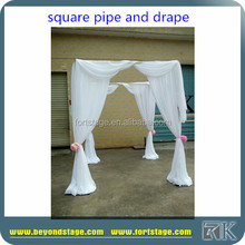 RK Wholesale Pipe And Drape/Romantic Canopy/ceiling drapery fabric