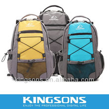 Kingsons laptop 15.6 inch nylon backpack with belt high quality