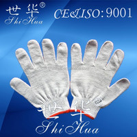 industrial use yarn knitting glove bath gloves cotton gloves bulk