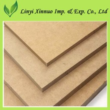 standard size E1 class laminated HDF MDF board wood prices