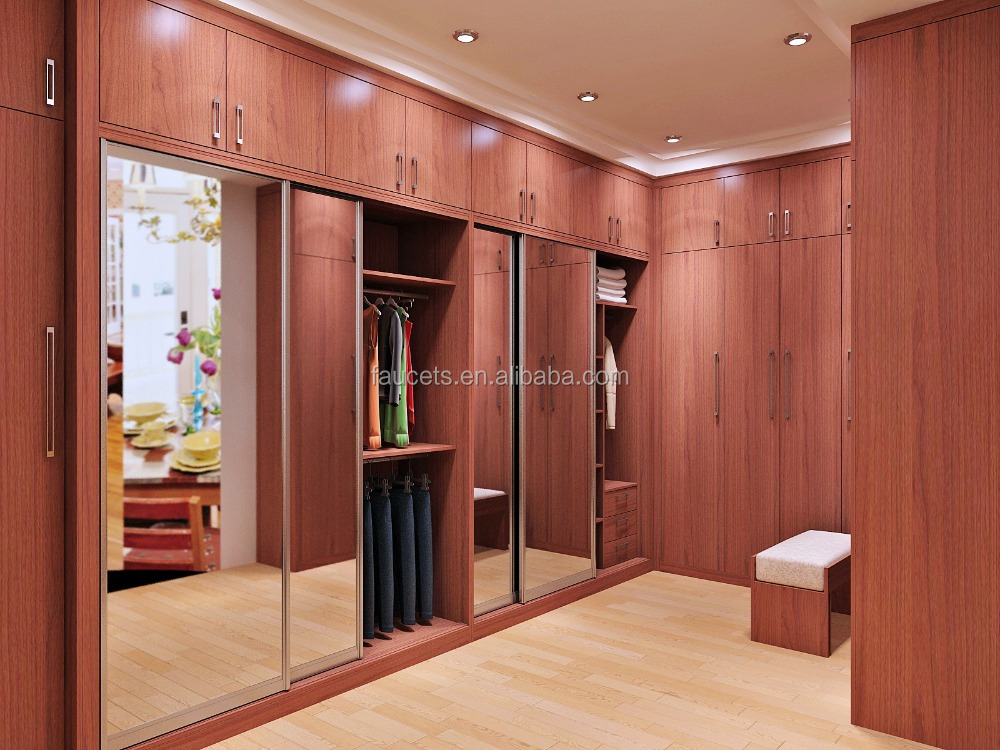 Modern Wardrobe Designs With Dressing Table