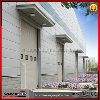 Overhead Sectional Industrial Door/Automatic Industrial Doors/Insulated Sectional Industrial Door