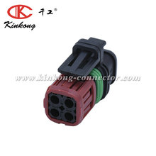 4 pin Tyco/AMP female waterproof auto electrical connector car wire housing plug