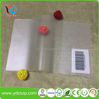 customize size transparent PVC plastic book cover