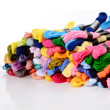 Mercerized embroidery cotton thread in skein