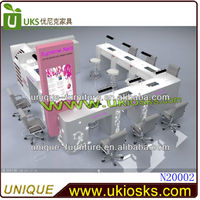 2014 Beauty display nail bar furniture Made in china (manufacturer)