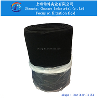 high quality activated carbon cloth/honeycomb grease filter