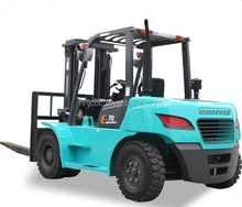 Wholesale 7ton Gasoline forklift trucks for sale with GM gasoline engine