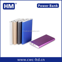 Trending hot products 2016 credit card size power bank for iPhone6 plus