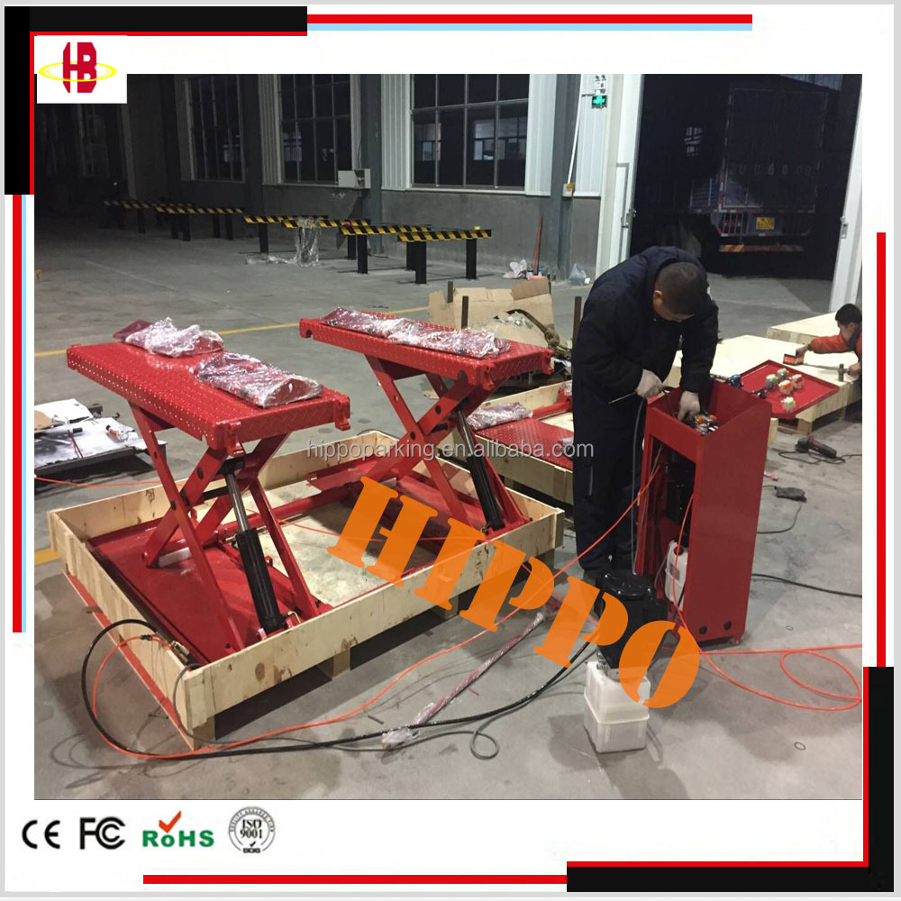 mini scissor platform car lift
