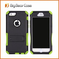 New trendy case for cell phone 3 in 1 combo case for iphone 6