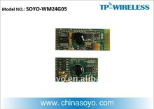 2.4G RF digital wireless embedded module (Tx and Rx)