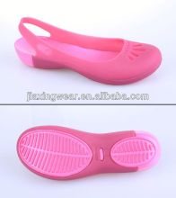 Various styles fashion jelly shoes for wemen