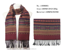 china factory winter season college graduated scarf long kniting warm scarves