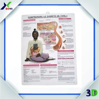 professional design and printing medical poster