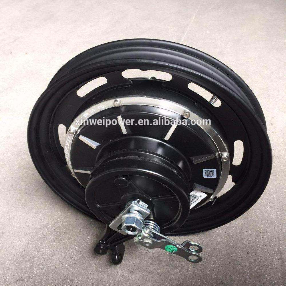 48V 350W 16x1.75 hub motor scooter motor motorcycle motor BLDC brushless permanent magnet direct drive
