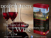 DON CLEMENTE Red Wine 11.0% carton 12x1l