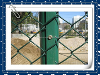 Chain Link fence diamond wire mesh fence