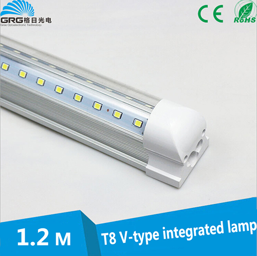 High quality Clear cover 4500K Nature white T8 Cooler door LED Tube Light with bracket