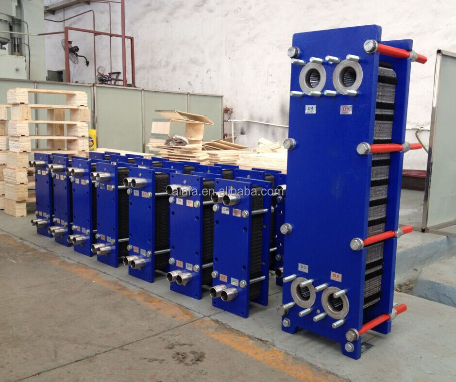industrial oil cooler , S43 plate heat exchanger