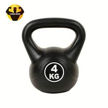 RAMBO Cement-Filled Kettleblack Cement Kettle Bell With Pvc Coat Kettlebell For Sale