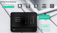 The latest products of GS-90B smart home controller alarm security system