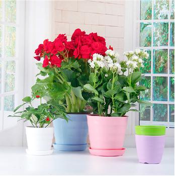 New Design Sublimation White Ceramic Flower Pot C Fp