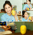 Portable Mini Charge Battery Power Wireless Electric Led Lamp Aroma USB Diffuser with Lemon Design