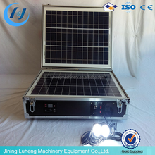Portable solar power system/ solar panel kit,solar charger case