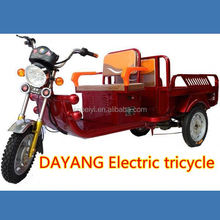 chinese popular new style800w/1000w/1200w electric tricycle truck