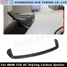 AC Style For BMW F20 Spoiler 2012 - 2016 1 Series 116i 120i 118i M135i F20 Carbon Fiber Rear Roof / Top Spoiler