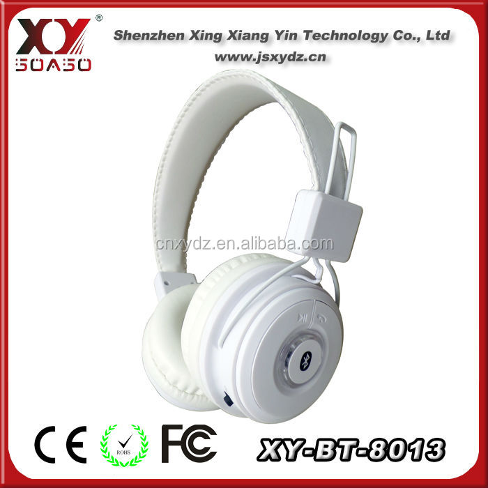 super bass stereo mp3 player wireless custom branded headphones