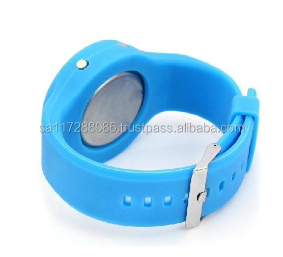 Fasion round shape TOP Quality Watches Custom Jelly watch Silicon Watch